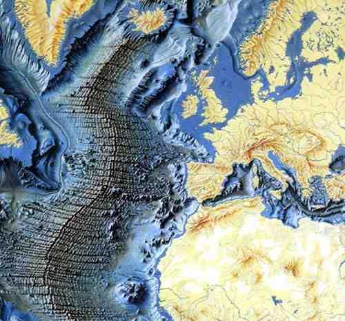 Resultado de imagen de dorsal atlántica